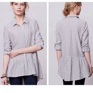 {ANTHRO}SUNDAY IN BROOKLYN WILEY TUNIC TOP